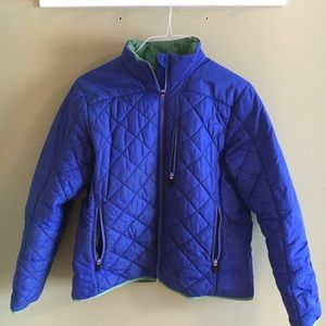 Lands End quilted jacket, size medium